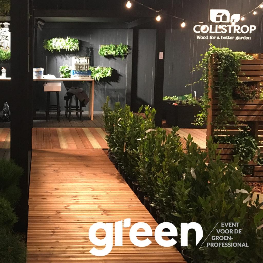 Collstrop op Green Expo
